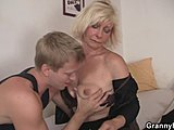 Old woman, Grandmother, Pussy, Mature, Blonde, Young, Granny, Old, High definition