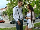 Boyfriend, Reality, Public, Brunette, Softcore, Teen, Defloration, Outdoor, Virgin