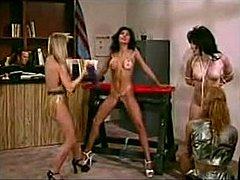 Bar, Retro, Group, Vintage, Antique, 3 some, Pornstar