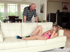 Dad and girl, Blonde, Angry, Nasty, Teen, Doggystyle, Fucking, Father-in-law, Uncle, Adorable, Bent over, Sucking