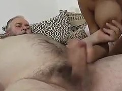 Old and young, Teen, Old, Dad and girl, Boobs, Tits, Old man, Big tits