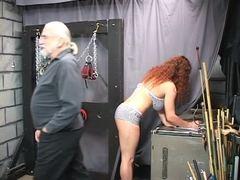 Punished, Basement, Fetish, Feet, Redhead, Lingerie, Torture, Bdsm, Sex, Fat, Big tits, Bound, Mature, Slave, Disgrace, Boobs, Bbw, Gagging, Rough, Master, Maledom, Old, Extreme, Choking, Tits, Blindfolded, Masked