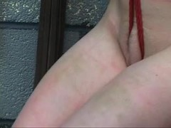 Whipping, Basement, Fetish, Teen, Spanking, Bdsm, Master, Young, Feet, Maledom, Choking, Tits, Brunette, Gagging