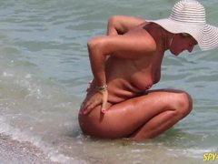 Beach, Nudist, Beach sex, Voyeur, Milf, Amateurs, Sex