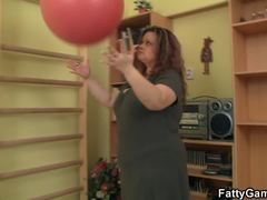 Bbw, Game, Boobs, Chunky, Fat, Instruction, Big ass, Athletic, Big natural tits, Natural tits, Babe, Tits, Fitness, Big tits