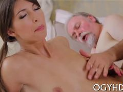 Old and young, Russian, Hardcore, Pickup, Old, Car, Teen, Fucking, Amateurs, Blowjob
