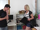 Babysitter, Grandmother, Mature, Old, Mommy, Granny, Toys, Cougar, Caning
