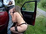 Big tits, Blowjob, Amateurs, Fucking, Tits, German, Car, European