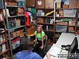 Petite, First time, Police, Office, Teen, High definition, At work, Blonde