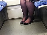 Grandmother, High definition, Mature, Nylon, Stockings, Feet, Granny, Fetish, Pantyhose