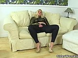 Mommy, Mature, Leggings, European, Fingering, Milf, Blonde, Fucking, British