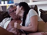 Assfucking, Hardcore, Amateurs, Old and young, Mexican, Young, Anal, Old, Brunette, Blowjob