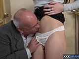 Cunilingus, Small tits, Dad and girl, Old and young, Pussy, Muff diving, Grandfather, Lick, Brunette, European, Fucking, Tits, Petite, Tight, Teen