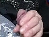 Young, Amateurs, Grandmother, Granny, Old and young, Mature, Handjob, Cock