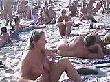 Beach, Group, Amateurs, High definition, Blonde, Sex, Public, Outdoor, Swingers, Nude