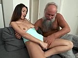 Pussy, Mature, Muff diving, Grandfather, Big tits, Boobs, European, Tits, Cunilingus, Old and young, Cock, Young, Daddy, Teen, Lick, Brunette, Old