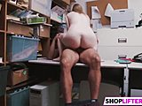 Caught, At work, Amateurs, Hardcore, Big cock, Cock, Blowjob, Burglar, Teen, Office, Shop, Police, Monster cock, Punished