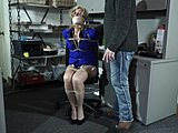 Rough, Sex, Bdsm, Choking, Blonde, Tied up, Milf, Group, Couple, Jerk off instructions, 3 some, Bondage, Gagging, Bound, Sex tape