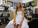 Blowjob, Group, Doggystyle, Babe, Dress, Blonde, Married, Cock, Banging, Wedding, Reality, Pov, Big cock, Bent over, Monster cock, Bride