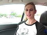 Transsexual, Shemale, Car, Big tits, Boobs, Interview, Pov, Tits, Casting
