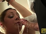 Deepthroat make the horny guys extremely satisfied