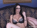 Cumshot, Hardcore, Sucking, Facial, Cock, Brunette, Oral, Boobs, Blowjob, Tits, Cum, Glasses, Pornstar