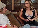 Mommy, Cum, Pussy, Seduction, Horny, Naughty, Glasses, Friend, Son's friend, Milf, Blonde, Not son, High definition, American