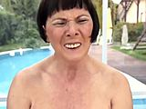 Hardcore, Asshole, Mature, Milf, Farting, Tits, Granny, Outdoor, Grandmother, Masturbation, Naughty, Old, Ass, Fucking, Horny, Mommy, Cougar, Pool