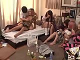 18-19 years, Asian, Group, Japanese, Teen, Jav, Banging, Gangbang