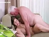 Horny brunettes enjoy riding the hard penises