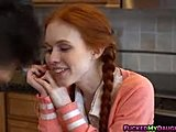 Blowjob, Amateurs, Fucking, High definition, Not brother, Teen, Redhead