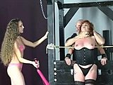 Lingerie, Group, 3 some, Milf, Young, Nylon, Brunette, Bdsm, Tits, Cute, Torture, Redhead