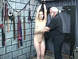 Perfect body, Old man, Milf, Spanking, Brunette, Old, Bdsm, Horny, Sexy
