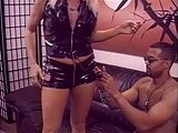 Hardcore, Leather, Pussy, Cigarette, Muff diving, Milf, Lick, Creampie, Blowjob, Blonde, Tits, Smoking, Cunilingus, Latex