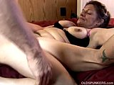 Cumshot, Grandmother, Saggy tits, Mature, Milf, Old, Granny, Huge, Kinky, Tits, Toys, Cougar, Facial