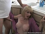 Blowjob, Mommy, Taboo, Milf, Mother-in-law, Sexy, Handjob, Blonde