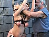 Good looking girls get tortured and drilled rough