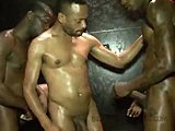 Assfucking, Hardcore, Muscular, Black, Ebony, Anal, Cum, Bodybuilder, Facial