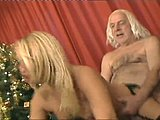 Cumshot, Shaved pussy, Sucking, Pussy, Grandfather, Cowgirl, Old and young, Dad and girl, Blonde, Cock, Blowjob, Hairless, Tits, Stockings, Teen, Perky, Handjob, Riding