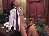Amazing secretaries put the cocks in their butts