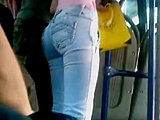 Homemade, Ass, Amateurs, Upskirt, Spanish, Latina, Young, Voyeur, Skirt, Candid, Teen, Hidden, Bus, European