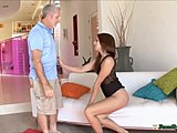 Not daughter, Uncle, Taboo, Latina, Brunette, Dad and girl, Sex, Old and young, Old man, Old, Daddy, Slut, Fucking, Teen, Father-in-law, Young, Punished