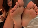 Attractive girls adore showing their sexy feet