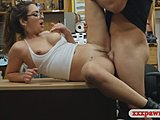 Stunning couples have some hot sex in a backroom