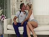 Blowjob, Creampie, European, High definition, Tits