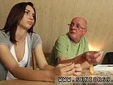 Not daughter, Sex, Old and young, Small tits, Lick, Teen, Tits, Young, Brunette, Old