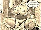 hardcore toon szex pornó
