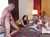 Old, High definition, Latina, Old man, Blowjob