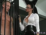 Hardcore, Fetish, Domination, Big tits, Boobs, Submission, Slave, Tits, Bdsm, Huge, Kinky, Bound, Rough, Femdom, Cage, Muscular, Pussy, Mistress, Bodybuilder, Lick, Punished, Oral, Blowjob, Tied up, Bondage, Tattoo, Latex