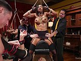 Assfucking, Group, Sex, Submission, Bound, Machine, Domination, Sybian, Kinky, Anal, Lesbian, Bondage, Femdom, Bdsm, Swingers, Costumes